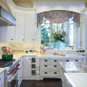 European custom kitchen
