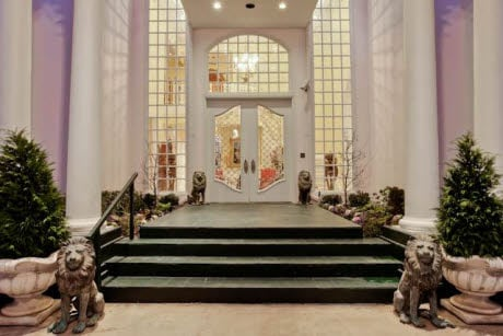 Grand entrance Mary Kay Ash mansion