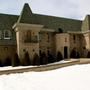 House built like a castle for sale