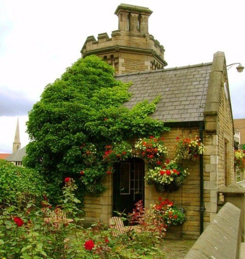 English Cottage Village: Enchanting Fairy-tale English Cottages