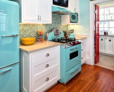 fun retro kitchen