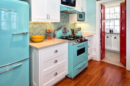 fun retro kitchen