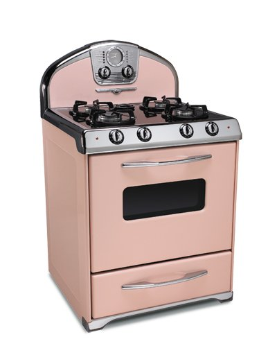 Retro Small Kitchen Appliances pink retro kitchens