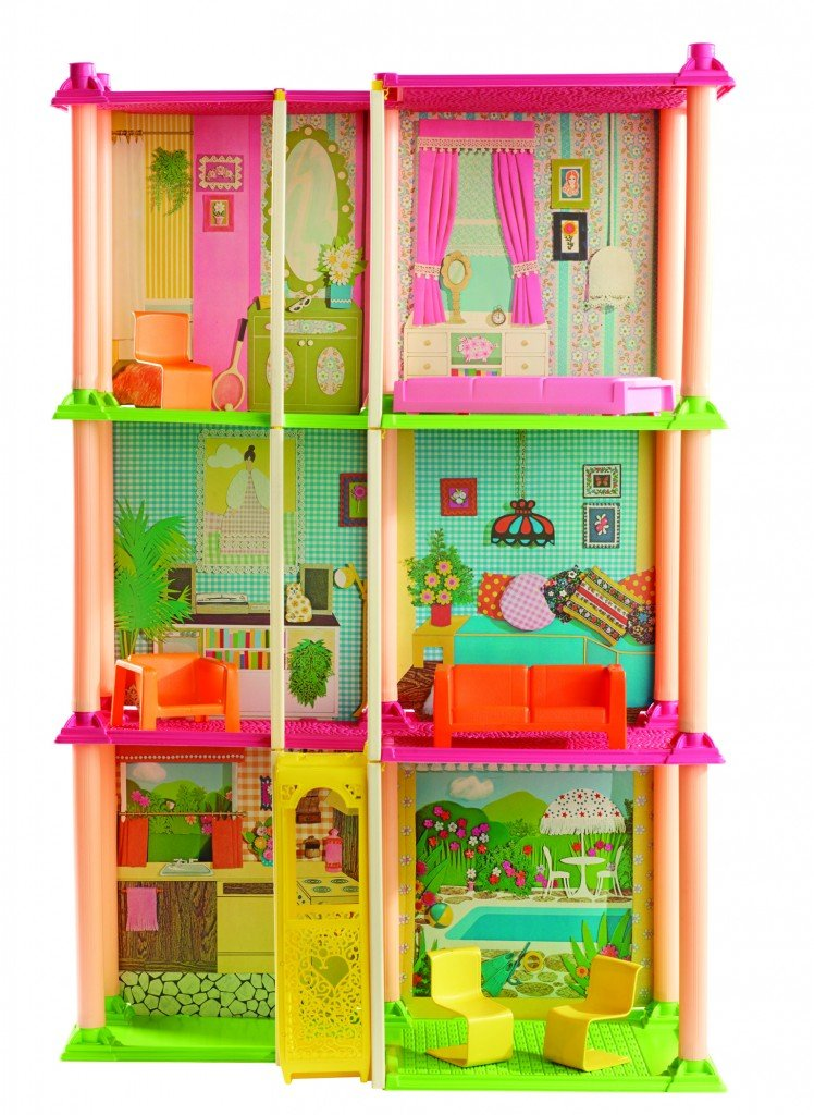 Barbies million dollar real estate empire - Supercasa de barbie ...