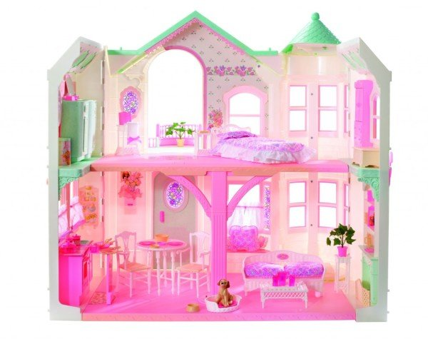 1998-Barbie-Deluxe-Dream-House