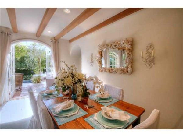 Dining room La Jolla CA real estate