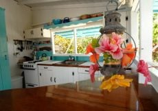 Kitchen in Bahamas cottage