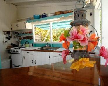 Kitchen in Bahamas cottage