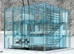 See-Through Glass House Designed by Carlo Santambrogio & Ennio Arosio