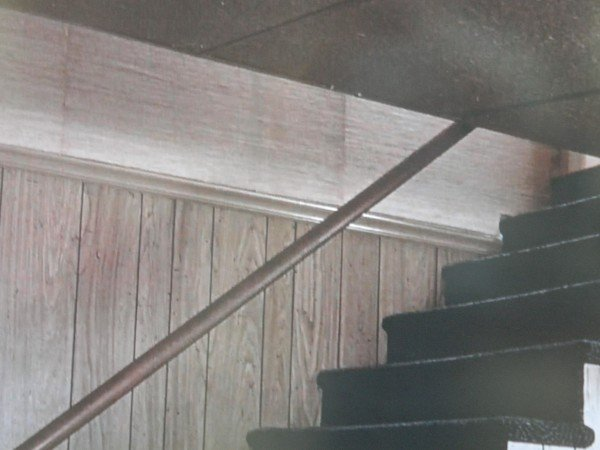 Basement stairs in Junebug movie