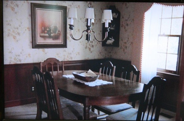 Junebug movie dining room