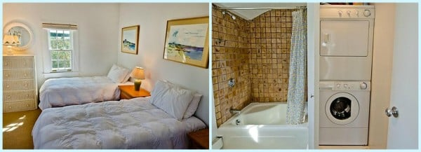 Cottage Bedroom and Bathroom