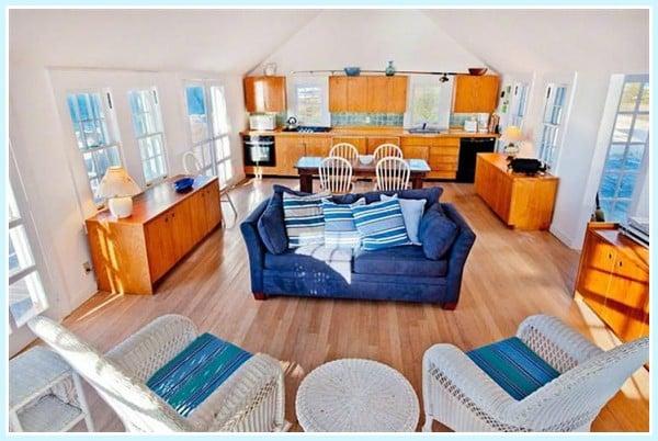 Herring Cottage open living
