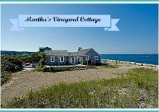 Martha's Vineyard cottage home tour is The Herring Creek Cottage