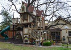 Kids Tree house by Sarah Greenman