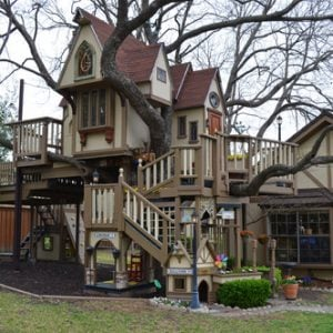 Most incredible Kids Tree House by Sarah Greenman