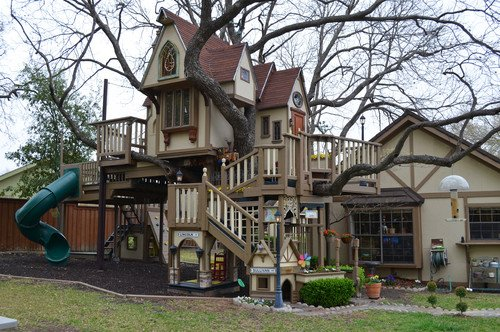 Kids Tree house by Sarah Greenman