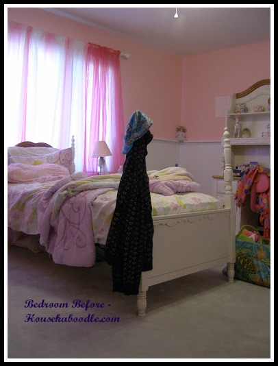 DIY -Cool Girls' Bedroom Design Ideas - Before and After Pictures