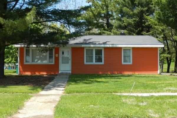 Fermilab orange house