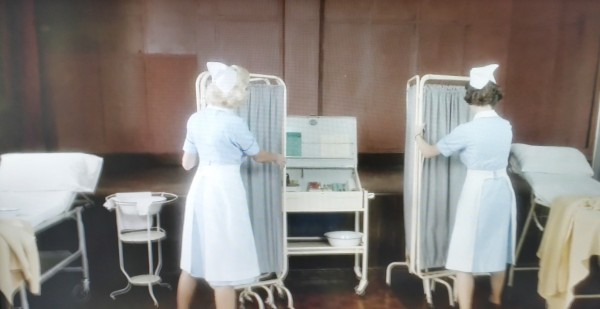Examination Room scene from the show - Call The Midwife