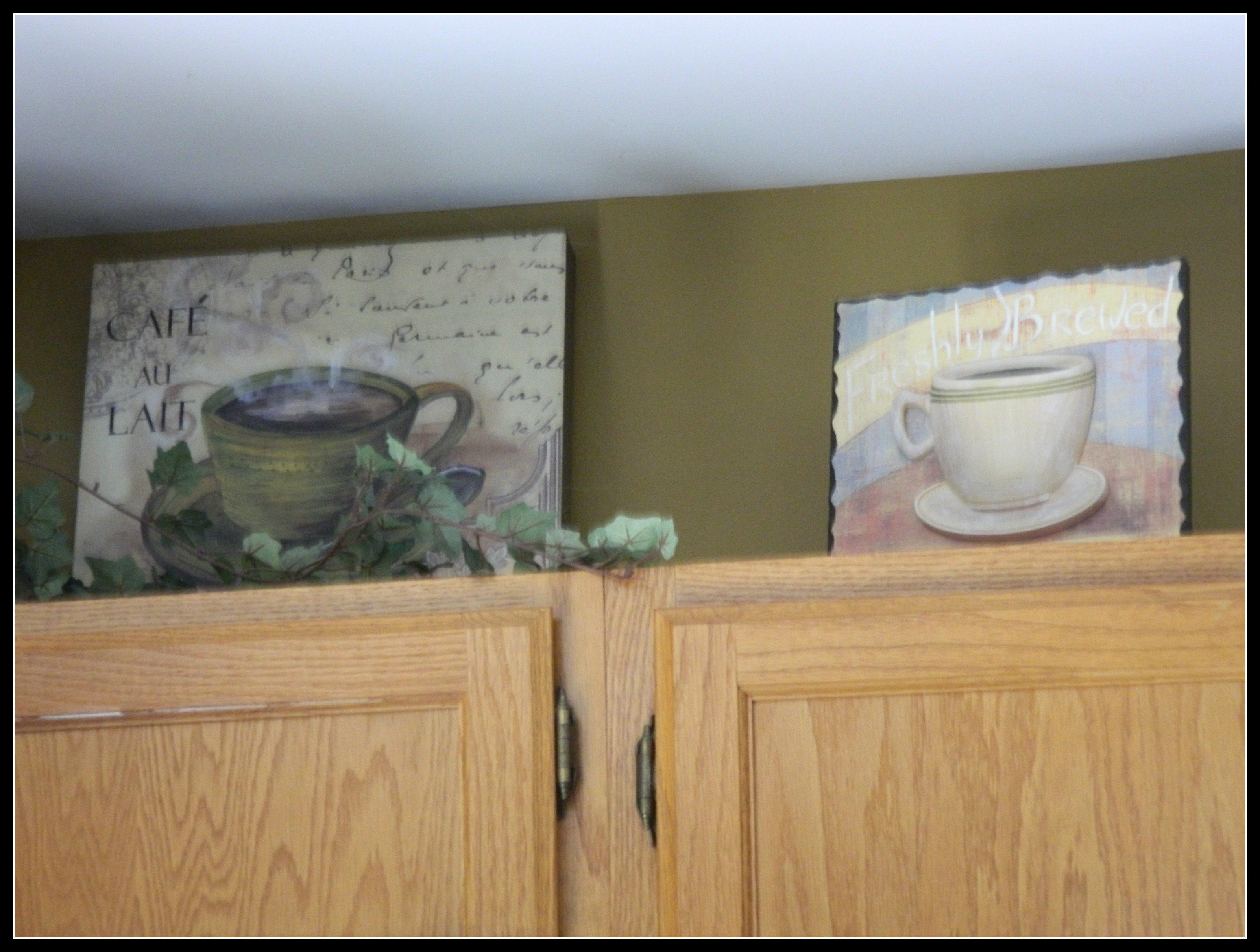 Coffee themed kitchen for Kitchen themed wall art