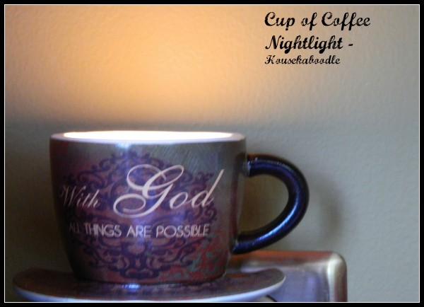 Cup of Coffee Nightlight