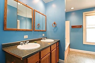 For sale 59,900 double sink bathroom