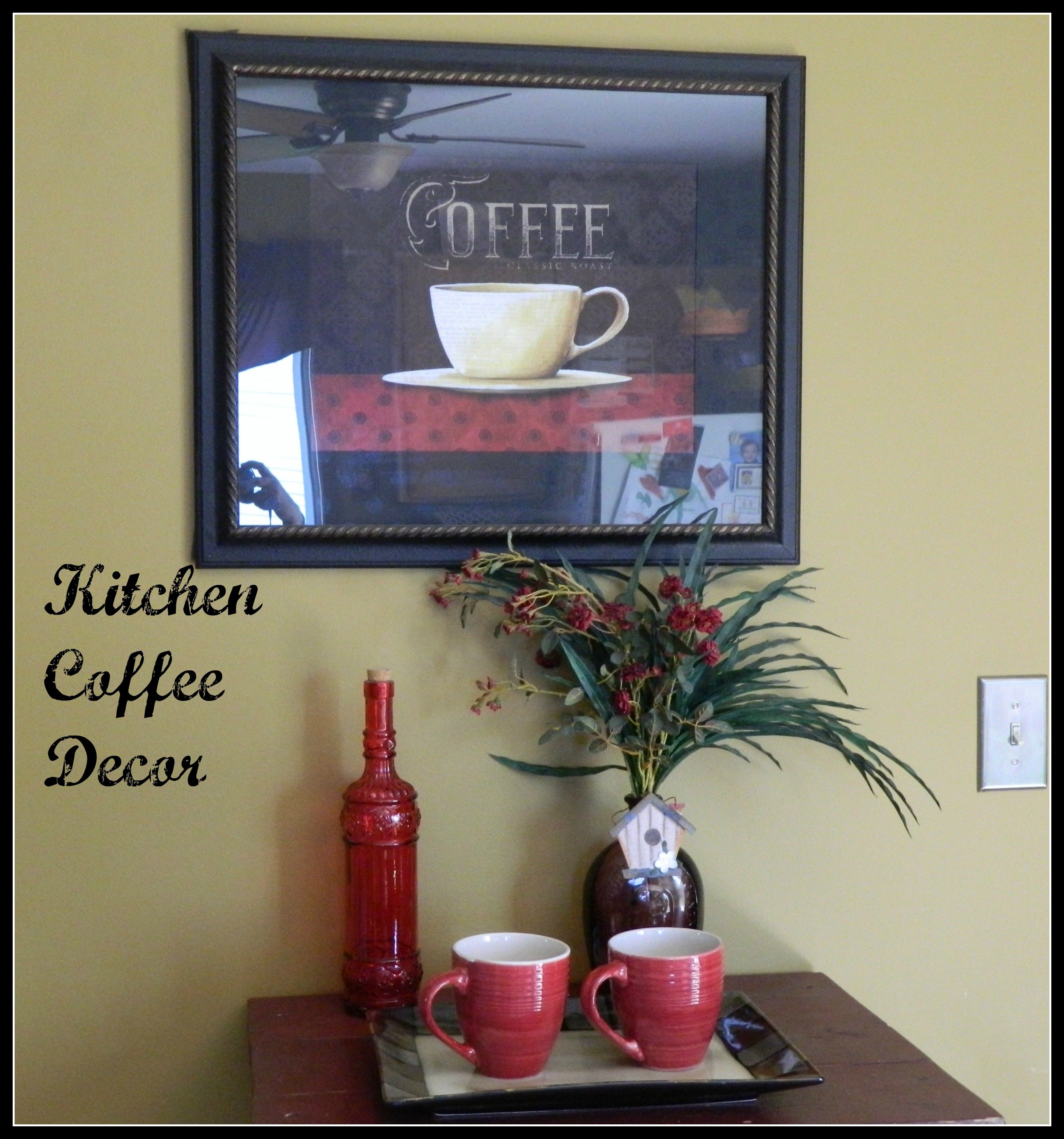 Coffee Themed Kitchen Decor - Housekaboodle
