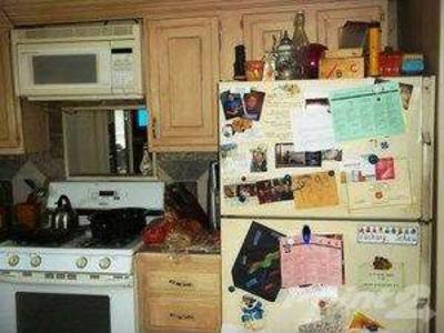 Messy kitchen photo