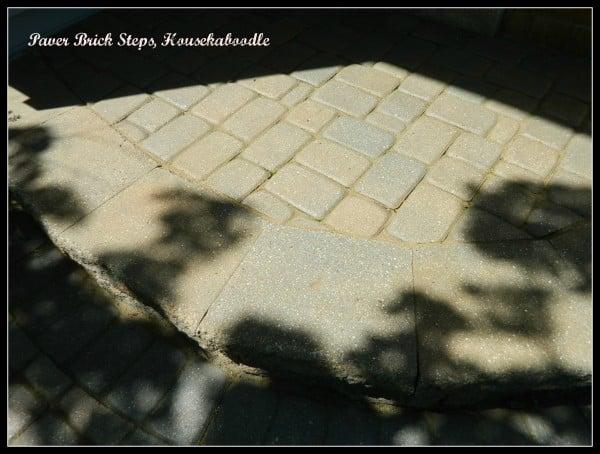 Paver Brick Steps