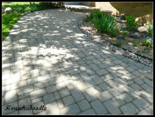 Paver Brick Walkway