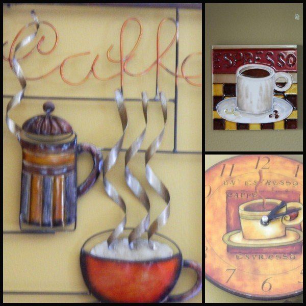 kitchen coffee wall art