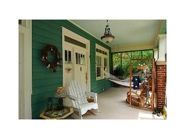 Bungalow front porch