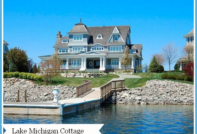 Cottage on Lake Michigan has 7 bedrooms