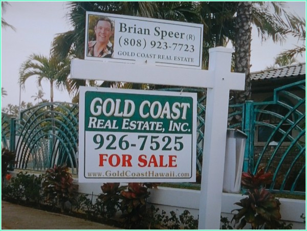 Brian Speer real estate agent sign