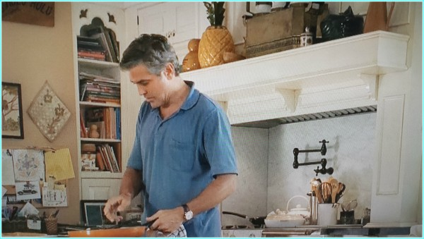 George Clooney kitchen scene the Descendants