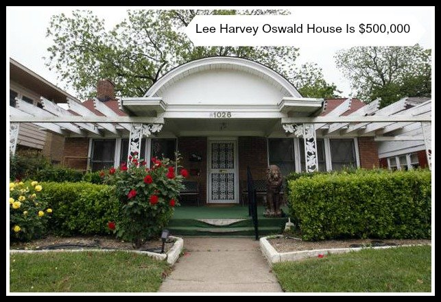 Lee Harvey Oswald House in Dallas Is $500,000
