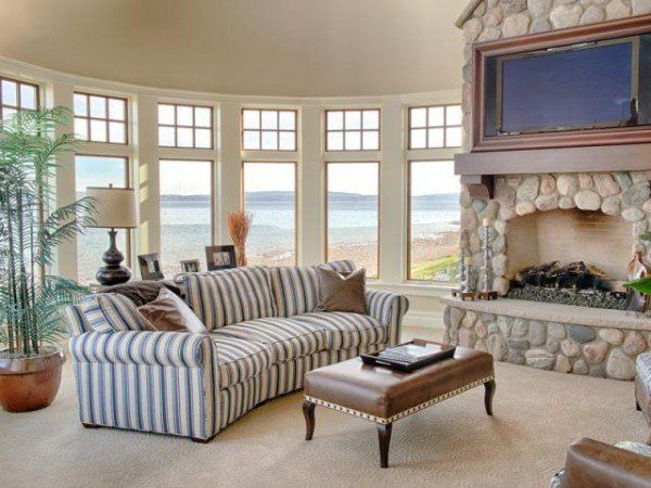 Living area with beautiful views