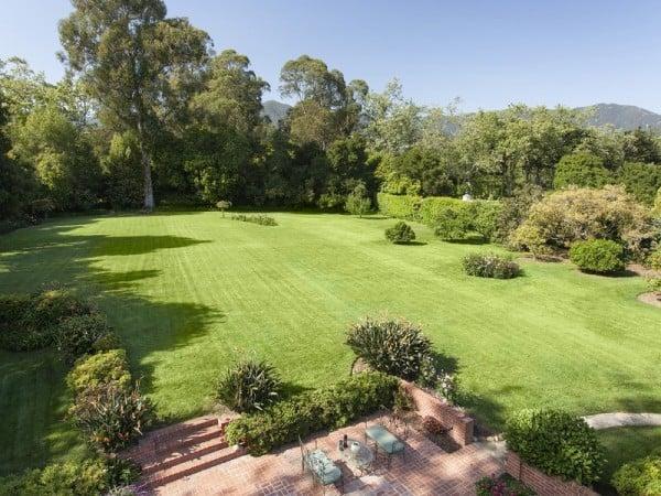 Lucious lawn