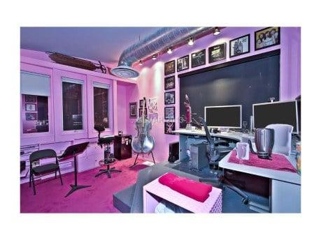 room Penn Jillette's The Slammer house