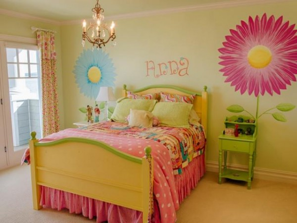 Princess bedroom decor