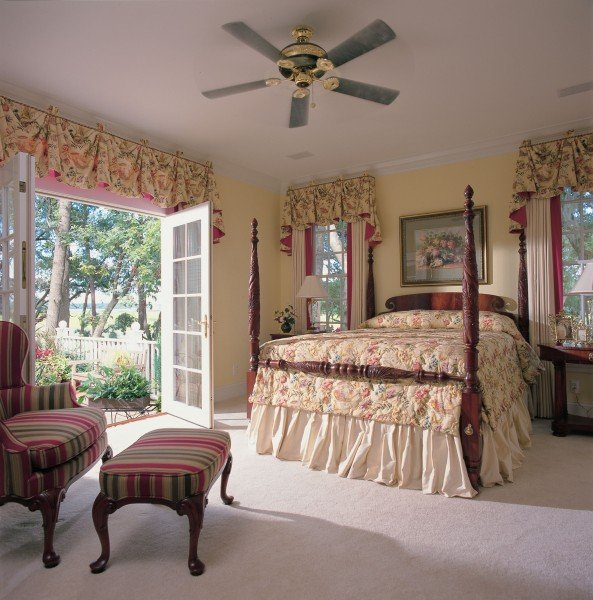 Cape Cod & New England Home Plans bedroom