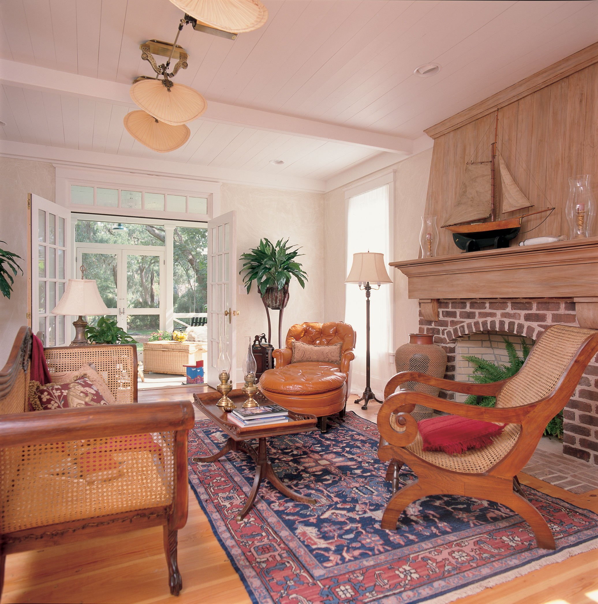 Cape cod home old key west house - Cape cod house interior ...