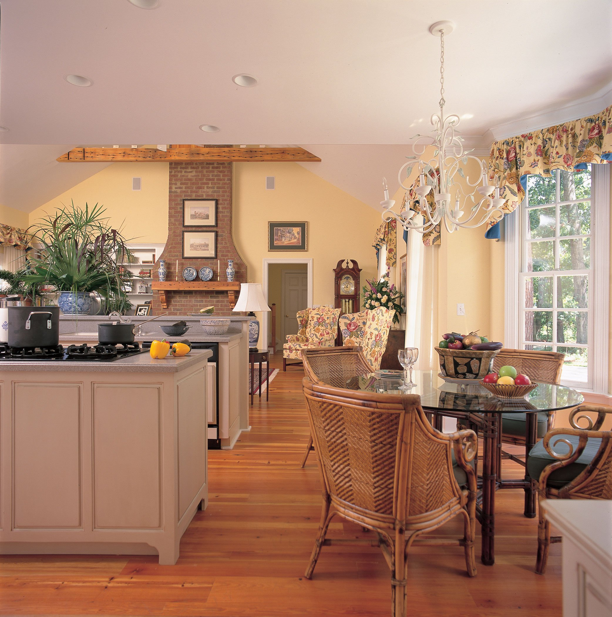 cape cod kitchen design. Cape Cod Country Open Kitchen Design Home  Old Key West House