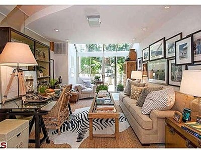 Malibu Beach House Interior Via Zillow