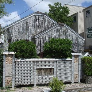 Unusual Beer Can House