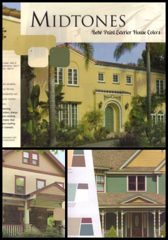 Exterior house color ideas behr paint - Colours for exterior house painting ...