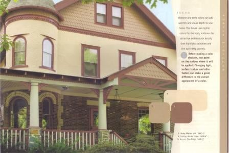 Behr Paint Midtone exterior color idea
