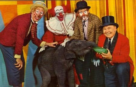 Bozo Circus Postcare