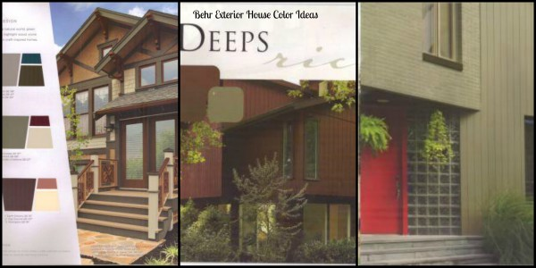 Deep rich exterior house color ideas